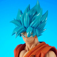 "This New ""Dragon Ball Super"" Goku Figure Is God-like"