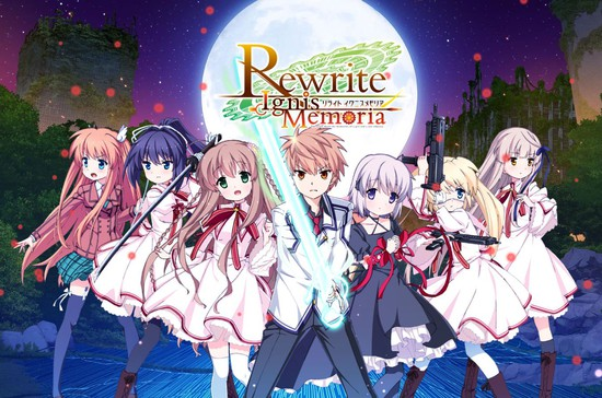Rewrite IgnisMemoria Smartphone Game Streams Kagari Promo Video