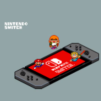 Adorable Pixel-Style Gif Animations Pay Tribute To Nintendo Switch And More