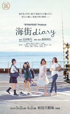 Umimachi Diary/Our Little Sister Manga Gets Stage Play