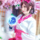 Dynasty Ahri Cosplay Fantastically Floral