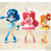"Pre-Orders Begin for ""Kirakira☆PreCure A La Mode"" Cutie Figures"