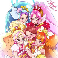 """Go! Princess PreCure"" New Novel Hits Japanese Stores March 15"