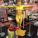 Gintama's Life-Size Kondō Is Sweet as Honey for Jump Shop Display