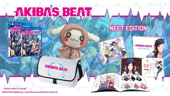 Akiba's Beat Game Now Slated for Spring in Europe With Limited Edition