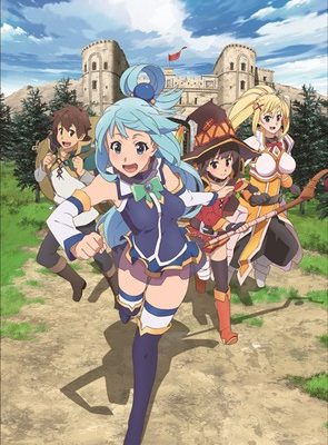 Crunchyroll to Stream KonoSuba's 2nd Season