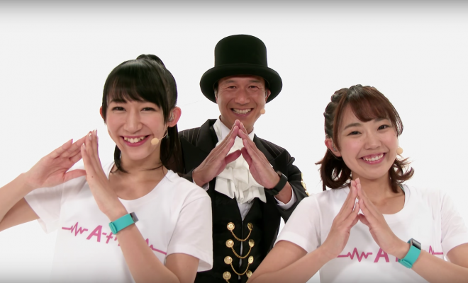 """Anison Fitness Evangelion Routine """"Looks Quite Silly"""""""