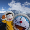 Doraemon Promotes New Movie Set in Antarctica by Literally Going to Antarctica