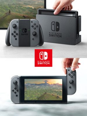 Nintendo Switch Launches on March 3 for US$299.99