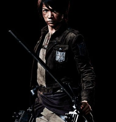 Attack on Titan Stage Play Reveals Eren, Mikasa, Armin Actors in Costume