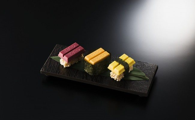 Japan Debuts World's 1st 'Sushi Kit Kat' Confections