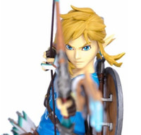 "First 4 Figures Shows How ""Zelda: Breath of the Wild"" Statues Are Made"