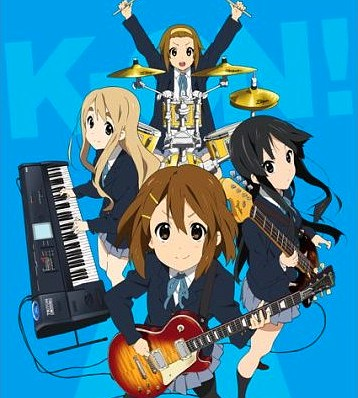K-ON! Tops Poll of Anime With Same-Face Characters