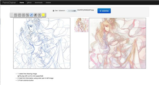 Automatic Coloring Site Can Colorize Your Manga Drawings