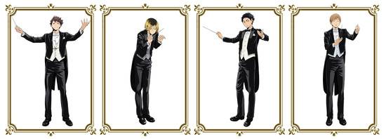 Haikyu!! Orchestra Concert Reveals Character Art, Goods