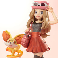 "Serena with Fennekin Dancing Their Way Into Stores As ""Pokémon"" Pokémon Statue"
