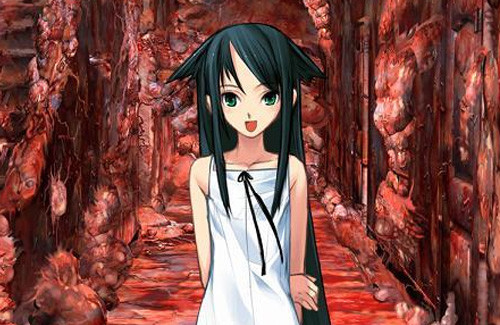 Everything is Bloody Terrifying with Saya no Uta VR Filter
