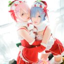 Christmas Rem & Ram Cosplay Lusciously Late