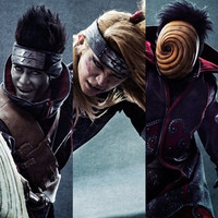 "Three ""Akatsuki"" Member Visuals for New ""Naruto Live Spectacle"" Stage Play Posted"