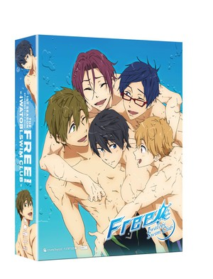 Funimation Schedules Free! - Iwatobi Swim Club Season 1 on BD/DVD in July