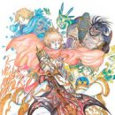 """Final Fantasy"" x ""Monster Strike"" Collaboration Drums Up Awesome Yoshitaka Amano Art"