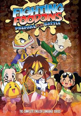Discotek Licenses Fighting Foodons, Ultra Maniac, Freedom Anime