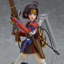 "Mumei Poses For Action With ""Kabaneri"" Figma"