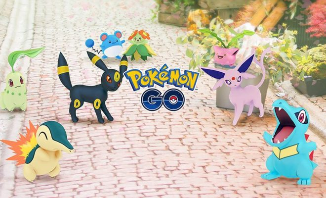 Pokémon Go Game's Update With Generation 2 Pokémon Now Available