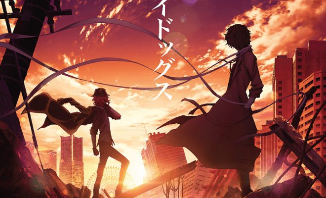 Bungo Stray Dogs Anime Gets New Film Project, Stage Play