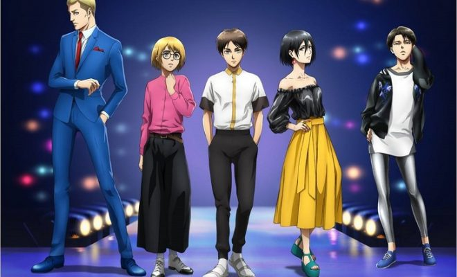 Attack on Titan Characters Take the Runway in Fashion Collaboration