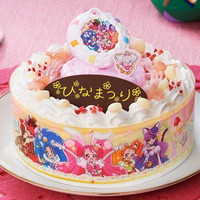 "Bandai Offers ""KiraKira PreCure"" Special Decoration Cake for The Girls' Festival"