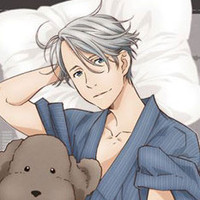 "Put Your Head Next To A Sexy Skater With ""Yuri!!! On Ice"" Pillow Covers - Plus Victor Wows Wonder Festival"