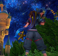 "New ""Kingdom Hearts III"" Screenshot Pays Tribute to ""Final Fantasy VII"""