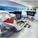 Take a Look at the Evangelion Bullet Train's Cockpit