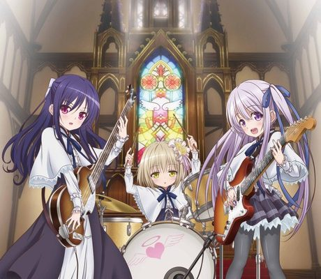 Tenshi no 3P! Anime's 1st Promo Video Previews Singing