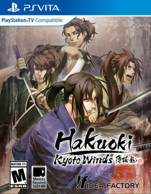 Hakuoki: Kyoto Winds PS Vita Game Slated for May in N. America, Europe