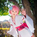 Young Ram Cosplay Overflowing With Charm