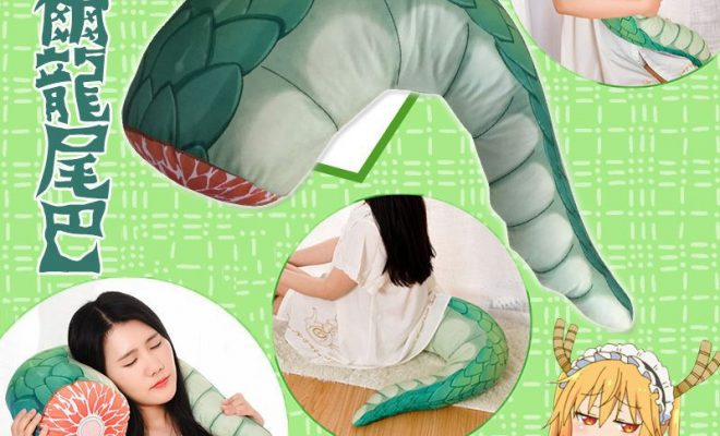 "Maid Dragon Tail Meat Cushion ""Quite Macabre"""