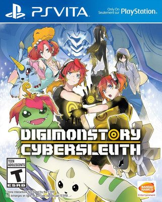 Bandai Namco Ent. Reveals Digimon Story Cyber Sleuth Hacker's Memory PS4, PS Vita Game