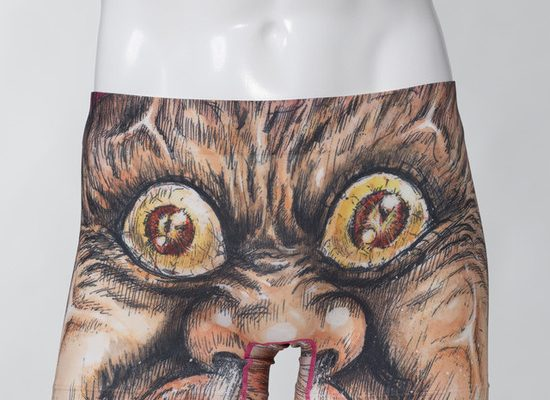 Man-gatarō's Manga Art Features on Men's Underwear
