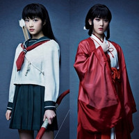 "Kagome and Kikyou Costume Visuals for Upcoming ""Inuyasha"" Stage Play Revealed"