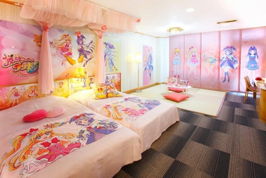 Have Magical Dreams in Kirakira ☆ Precure a la Mode Hotel Rooms