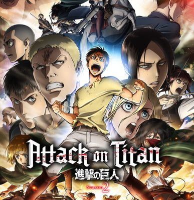 Attack on Titan Season 2 Blu-ray/DVDs to Include VR Anime
