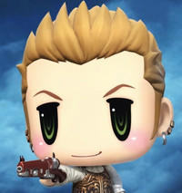 """World of Final Fantasy"" Summons FFXII's Balthier Later this Month"