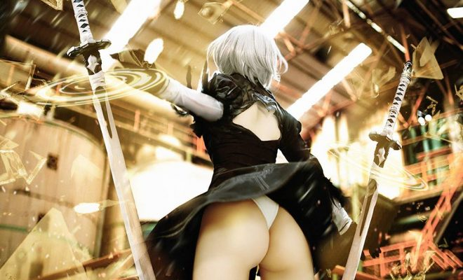 Yorha No.2 Type B by Misa Chiang Riding High
