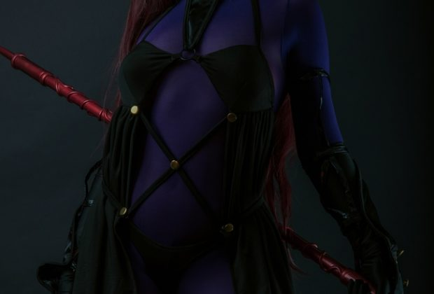 Dark & Deadly Scathach Cosplay Inspirational Indeed