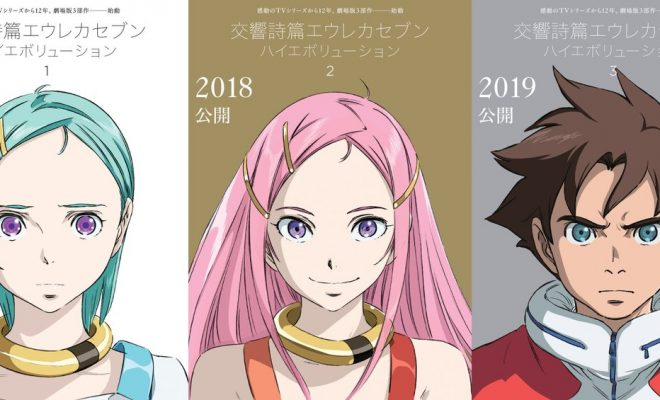 Eureka Seven Film Trilogy Announced