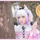 Cute Kanna Cosplay Hungry For Attention