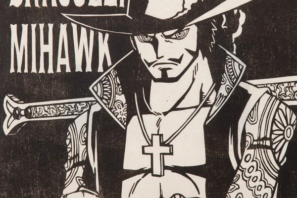 Limited Edition One Piece Mihawk, Shanks Woodblock Prints Cost 17,500 Yen