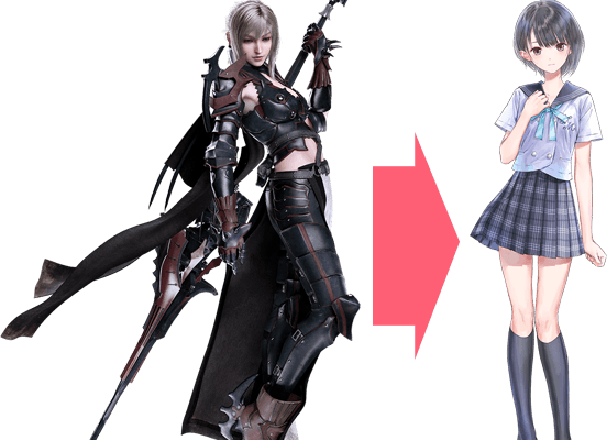 Blue Reflection Characters to Get Final Fantasy XV Costumes